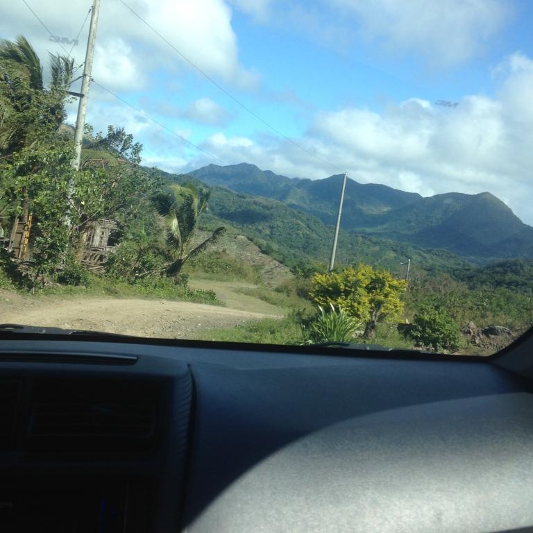 On the way to Mt. Daraitan
